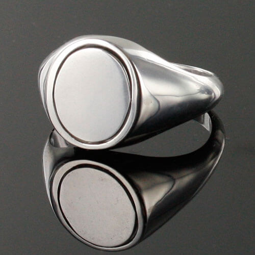 Reversible Solid Silver Royal Arch Masonic Ring (Red) 2