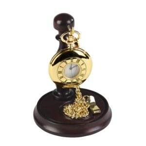 Wooden Hook Pocket Watch Stand