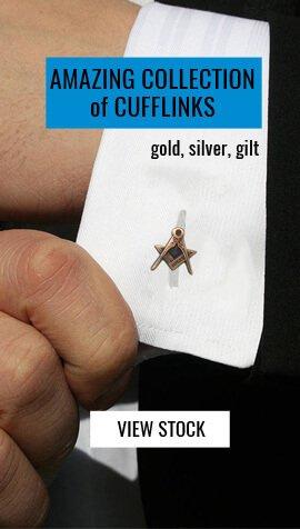 Masonic Rings, Cufflinks, Pendants & Pins | Masonic Jewellery