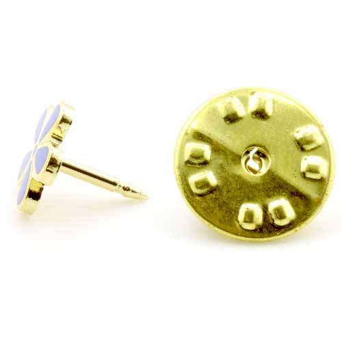 Gilt Metal Forget Me Not Masonic Lapel Pin (or Badge)