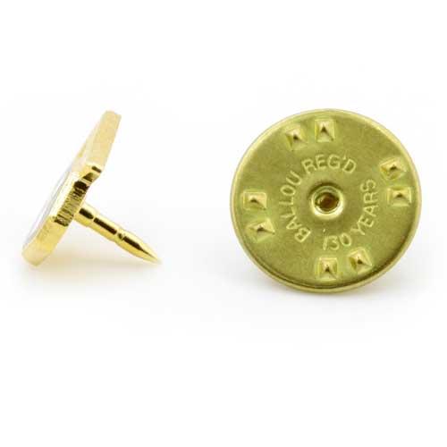 Gilt Metal Past Master's Masonic Lapel Pin 3