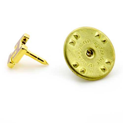 Gilt Metal Royal Arch (Triple Tau) Masonic Lapel Pin