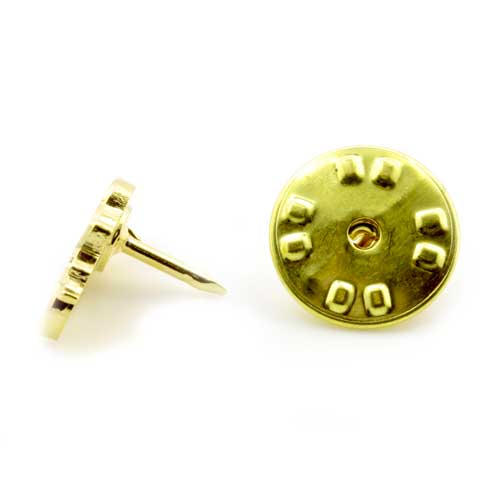 Gilt Metal and Enamel Rose Croix Masonic Lapel Pin 3